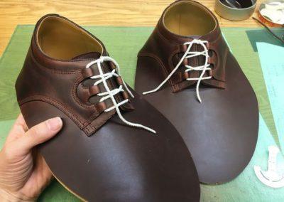 Заготовки верха обуви